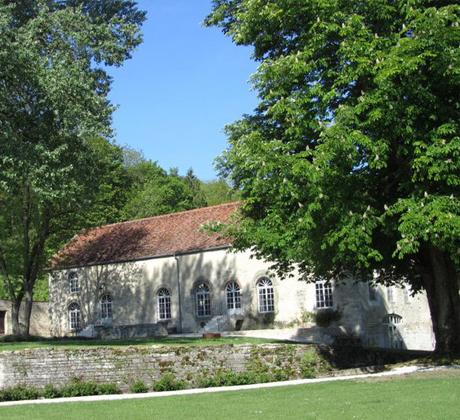 moulin, entre bief et Aube, abbaye d'Auberive